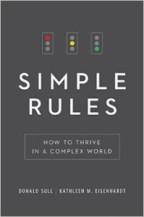 Simple Rules –  D. Sull and K. Eisenhardt (2015)