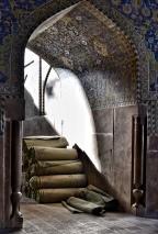 Inside a mosque, Iran