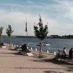 River Daugava, Riga